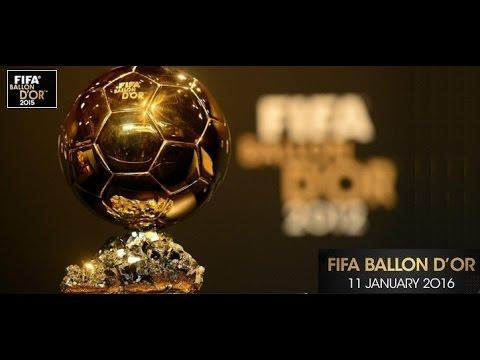 FIFA Ballon D'or Award 2015 Ceremony 11/1/2016 - Live Stream
