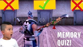 MEMORY QUIZ Fortnite Creative Gameplay With CKN Gaming