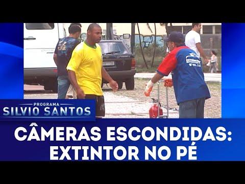 Extintor no Pé | Câmeras Escondidas (20/05/18)