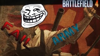Battlefield 4 Fail Army Funny Moments [Dranox der Saboteur, Typ an der Wand]