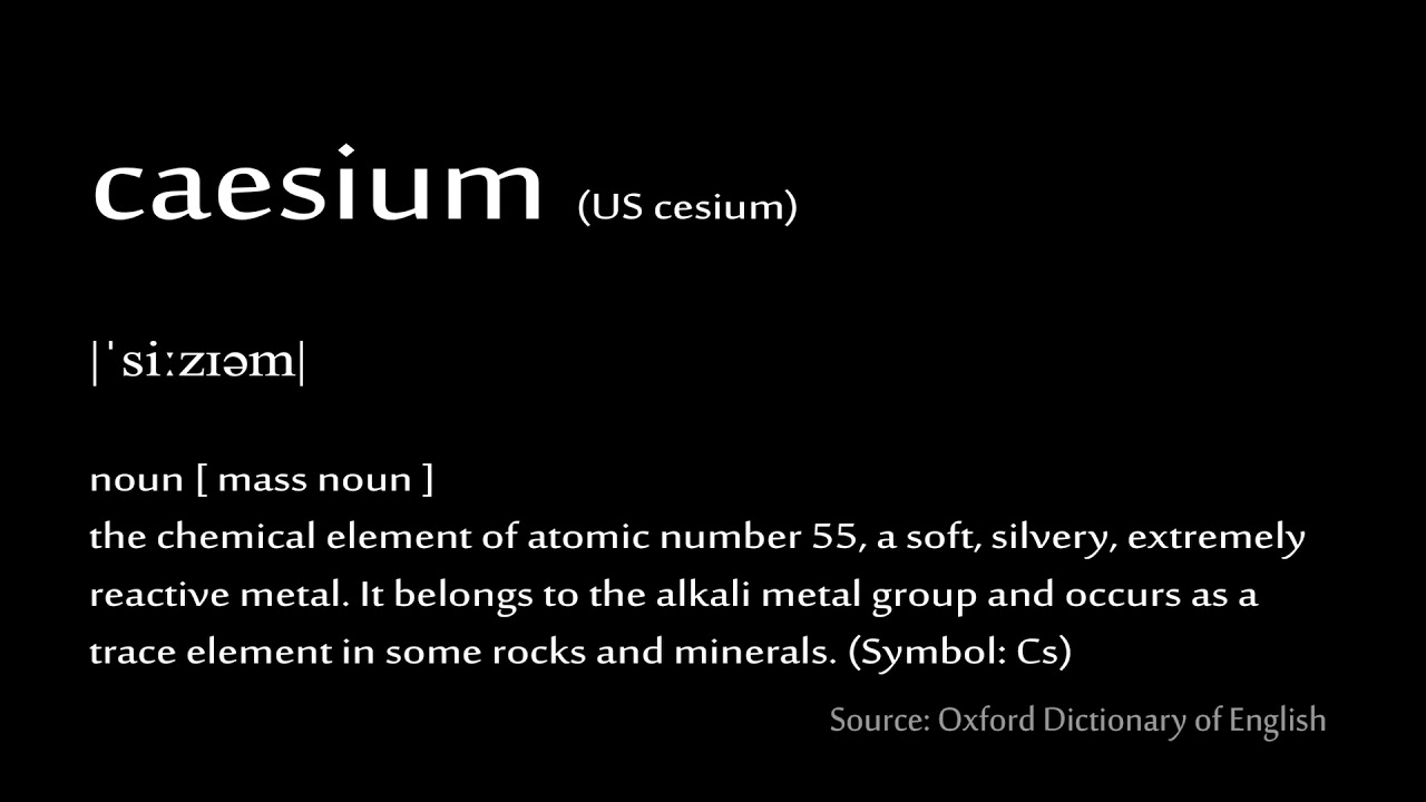 55 caesium how to pronounce chemical elements periodic table 55 caesium how to pronounce chemical elements periodic table urtaz Gallery