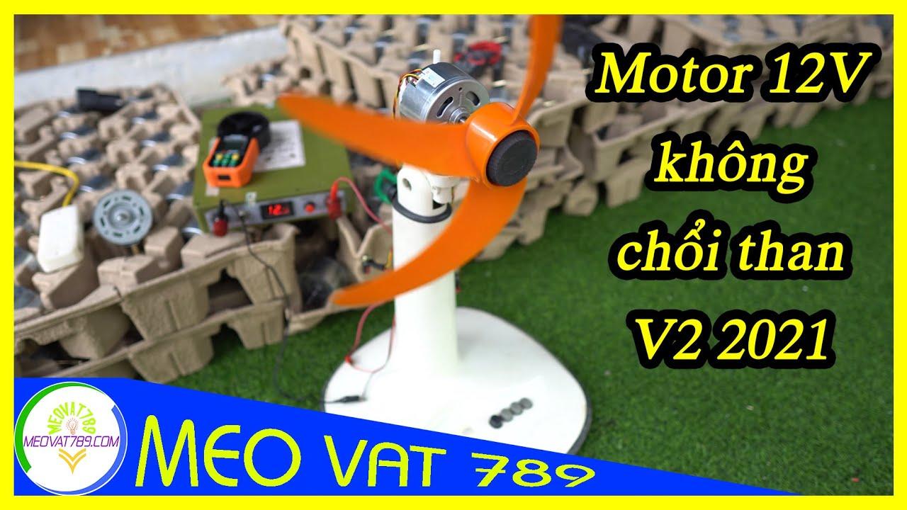 Động cơ quạt Motor quạt 12V không chổi than V2 2021 - Brushless 12V fan motor
