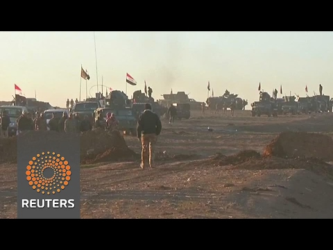 Iraqi forces start military offensive to retake west Mosul