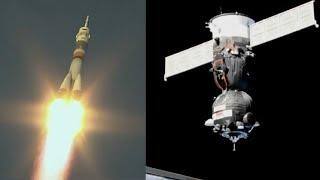 100th orbital launch of 2018 - Soyuz MS-11 Launch & Docking