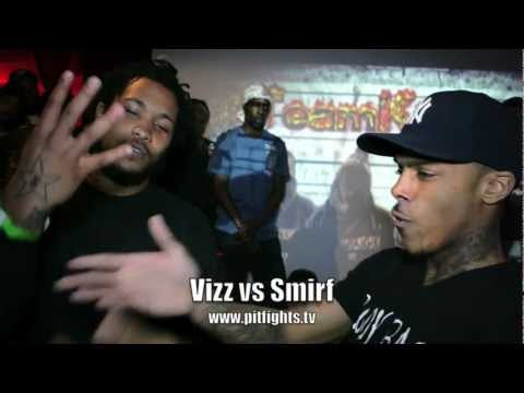 PIT FIGHTS BATTLE LEAGUE : No Love II: Vizz Da OutLaw vs BodyBagg Smirf
