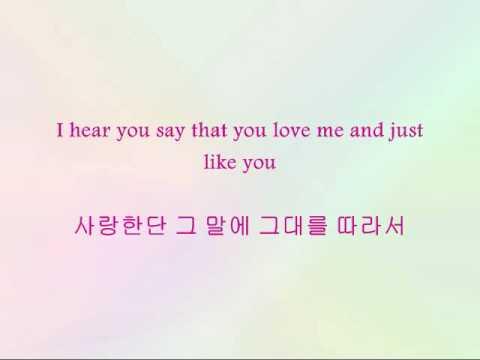 IU - Every Sweet Day [Han & Eng]