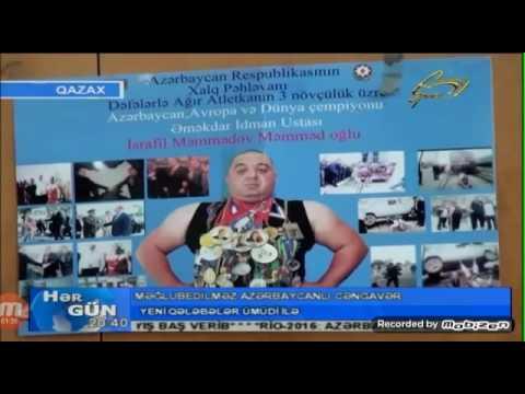 Israfil Pehlevan Azerbaycanin adini yene...