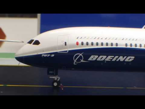 JC Wings 200 Boeing 787-9 Stretched Dreamliner(Dreamliner House Colors Livery)Review