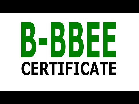 Applying For A B BBEE Certificate Through The CIPC Portal  Simple  @blossom Velder
