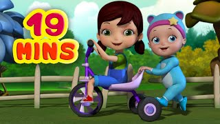 Brothers and Sisters - Family Songs | Rhymes and Baby Songs | Infobells