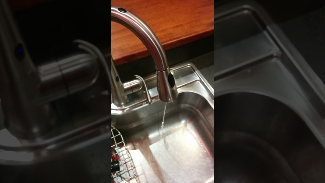 Moen MotionSense low flow (water pressure): any idea how to fix ...