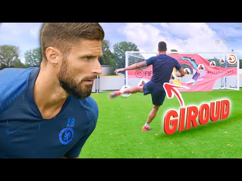 HOW TO SCORE THE PERFECT VOLLEY! ⚽🔥 FT. OLIVIER GIROUD Thumbnail