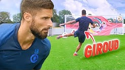 HOW TO SCORE THE PERFECT VOLLEY! ⚽🔥 FT. OLIVIER GIROUD