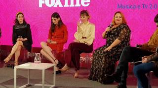 EXTRAVERGINE La nuova serie tv con Lodovica Comello (Conferenza stampa)