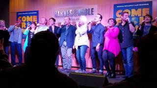 """""""Somewhere in the Middle of Nowhere"""" (Come From Away) @ Barnes & Noble 4/7/17"""