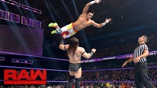 TJ Perkins vs. Neville: Raw, Dec. 26, 2016