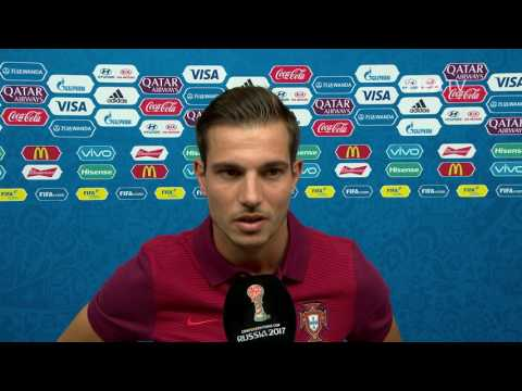 Cédric Post-Match Interview - Match 2: Portugal v Mexico FIFA Confederations Cup 2017