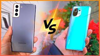 Xiaomi Mi11 VS Samsung Galaxy S21+