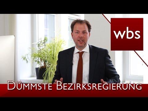 """Darf man die Bezirksregierung Köln als """"Dümmste Bezirksregierung Deutschlands"""" bezeichnen?"""