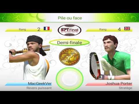 Odyssée (Final) : Virtua Tennis Challenge