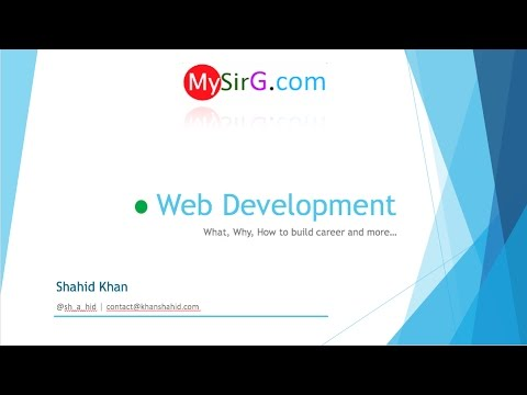 #1 Building career in Web Development | Introduction ( Hindi )