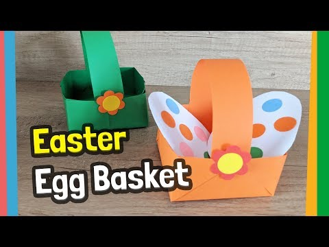 Easy to make Easter basket you will make it in 5 minutes