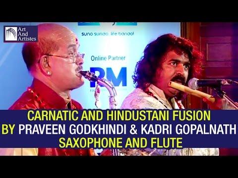 Dr Kadri Gopalnath Saxophone | Praveen Godkhindi Flute | Hindustani | Carnatic | Fusion | Idea Jalsa