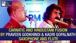 Kadri Gopalnath | Pravin Godkhindi | Raag Abheri | Saxophone Flute Duet | Hindustani Carnatic Music