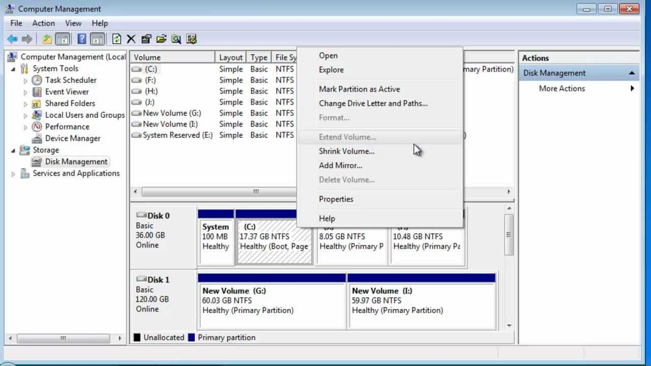 Partition Magic for Windows 7 to Extend System Partition without  Rebooting mp4