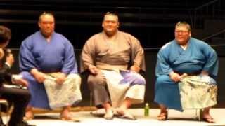 平成27年5月2日(土)、両国・国技館で行われた二所ノ関一門トークショー...