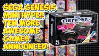 Sega Genesis Mini Is AWESOME! Ten More Games Announced! No FILLER!
