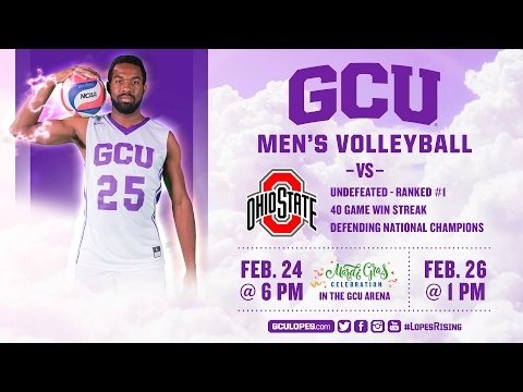 Men's Volleyball vs Ohio State Feb 24th, 2017