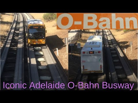 Iconic Adelaide O-Bahn - Must Watch Video
