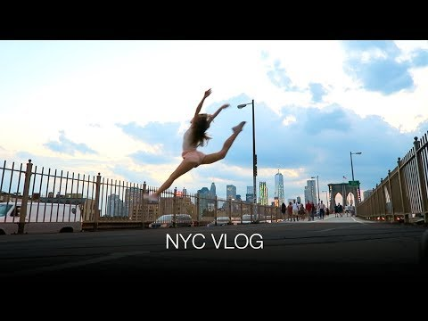 NYC VLOG - NEW POINTE SHOES, MEETING ADULT BALLERINAS, BEST VEGAN BAGEL EVER | natalie danza