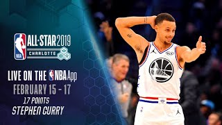 Stephen Curry - Team Giannis Vs Team Lebron - Full Highlights - All-Star Weekend 2019 ***
