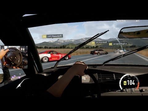 FH2 GoPro Highway Drifting Online w/Porsche 944 Turbo