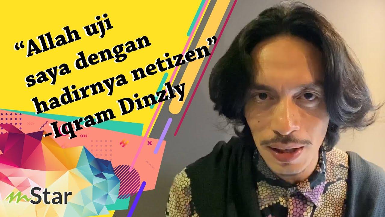 Tiba-tiba Iqram Dinzly naik angin ditegur fasal fesyen macam orang tak siuman!