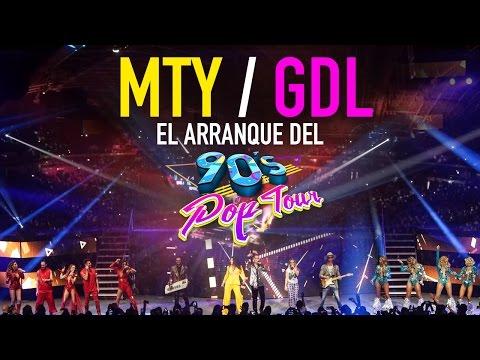 90's Pop Tour | Así vivimos el arranque en Monterrey y Guadalajara #ViveLosNoventas