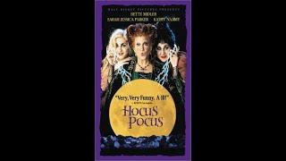 Opening To Hocus Pocus VHS (2003)