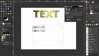 text tool part 2 gimp beginners guide ep51