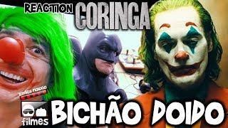 🎬 Coringa BICHÃO DOIDO - Reaction Trailer Irmãos Piologo Filmes