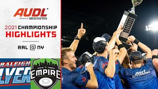 Raleigh Flyers at New York Empire | Championship Game | Game Highlights