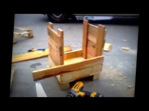 DIY Smokehouse made from old pallets