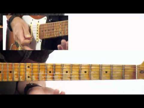 50 Modal Licks - #10 A Dorian - Guitar Lesson - Robbie Calvo
