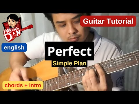 Guitar tutorial: Perfect 'Simple Plan' - Intro Lesson and Chords