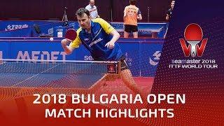 Adrian Crisan vs Zheng Peifeng | 2018 Bulgaria Open Highlights (Group)