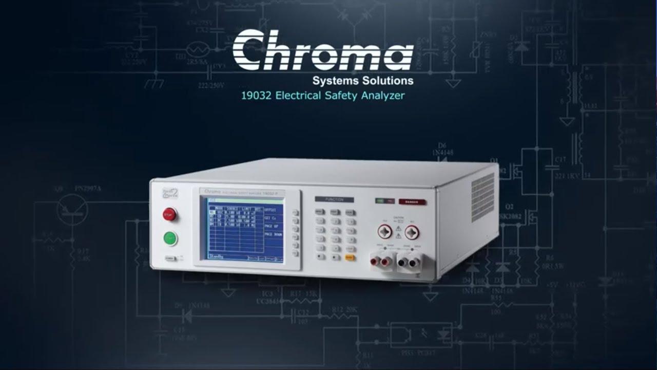 Guardian Electrical Safety Analyzer - 19032 | Chroma