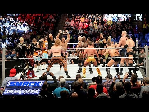 United States Championship Over-the-Top Battle Royal - SmackDown, November 28, 2014