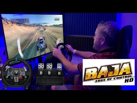 Xbox One - Baja Edge Of Control - Logitech G29 Wheel & Pedals - 4K