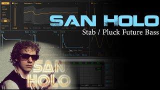 Pluck / Stab Wavetable Preset - San Holo, Flume, Martin Garrix Style